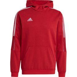Adidas Tiro 21 Sweater Met Kap Heren - Rood