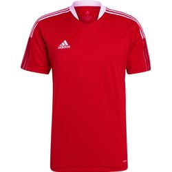 Adidas Tiro 21 T-Shirt Heren - Rood