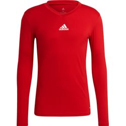 Adidas Base Tee 21 Maillot Manches Longues Hommes - Rouge