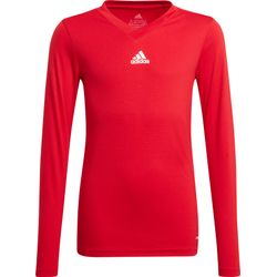 Adidas Base Tee 21 Maillot Manches Longues Enfants - Rouge