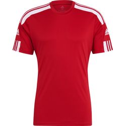 Adidas Squadra 21 Maillot Manches Courtes Hommes - Rouge / Blanc