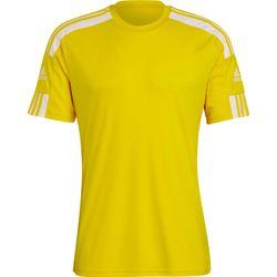 Adidas Squadra 21 Shirt Korte Mouw Heren - Geel / Wit
