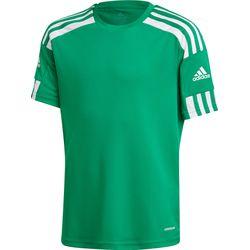 Adidas Squadra 21 Shirt Korte Mouw Kinderen - Groen / Wit