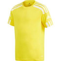 Adidas Squadra 21 Shirt Korte Mouw Kinderen - Geel / Wit