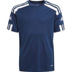 Adidas Squadra 21 Shirt Korte Mouw Kinderen - Marine / Wit