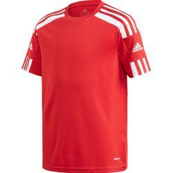 Adidas Squadra 21 Shirt Korte Mouw Kinderen - Rood / Wit