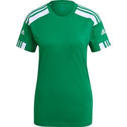 Adidas Squadra 21 Maillot Manches Courtes Femmes - Vert / Blanc