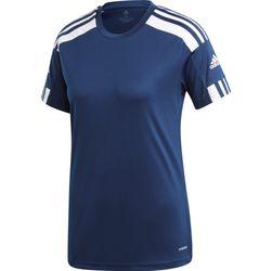 Adidas Squadra 21 Maillot Manches Courtes Femmes - Marine / Blanc