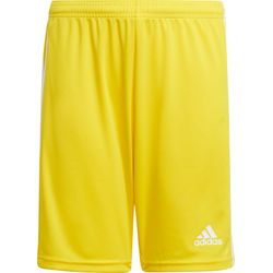 Adidas Squadra 21 Short Kinderen - Geel / Wit