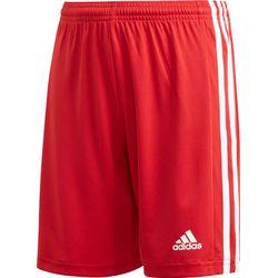 Adidas Squadra 21 Short Kinderen - Rood / Wit