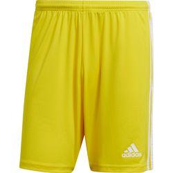 Adidas Squadra 21 Short Heren - Geel / Wit