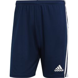Adidas Squadra 21 Short Hommes - Marine / Blanc