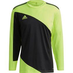 Adidas Squadra 21 Maillot De Gardien Manches Longues Hommes - Noir / Jaune Fluo
