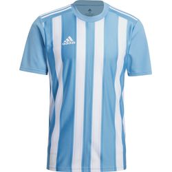 Adidas Striped 21 Shirt Korte Mouw Heren - Hemelsblauw / Wit