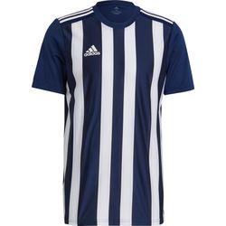 Adidas Striped 21 Shirt Korte Mouw Heren - Marine / Wit