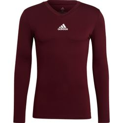 Adidas Base Tee 21 Maillot Manches Longues Hommes - Bordeaux