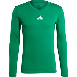 Adidas Base Tee 21 Maillot Manches Longues Hommes - Vert