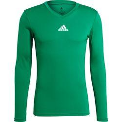 Adidas Base Tee 21 Shirt Lange Mouw Heren - Groen