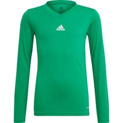 Adidas Base Tee 21 Shirt Lange Mouw Kinderen - Groen