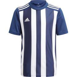 Adidas Striped 21 Shirt Korte Mouw Kinderen - Marine / Wit