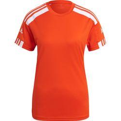 Adidas Squadra 21 Maillot Manches Courtes Femmes - Orange / Blanc