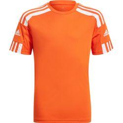 Adidas Squadra 21 Maillot Manches Courtes Enfants - Orange / Blanc