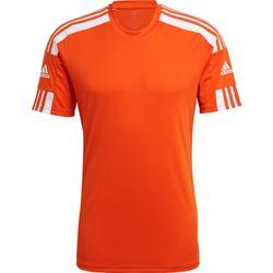 Adidas Squadra 21 Shirt Korte Mouw Heren - Oranje / Wit