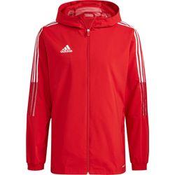 Adidas Tiro 21 Coupe-Vent Hommes - Rouge