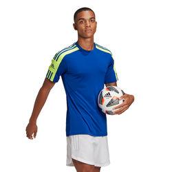 Voorvertoning: Adidas Squadra 21 Shirt Korte Mouw Heren - Royal / Fluogeel