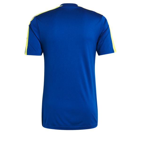 Adidas Squadra 21 Shirt Korte Mouw Heren - Royal / Fluogeel
