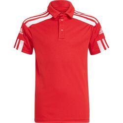 Adidas Squadra 21 Polo Kinderen - Rood / Wit