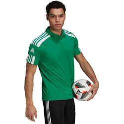 Adidas Squadra 21 Polo Heren - Groen / Wit