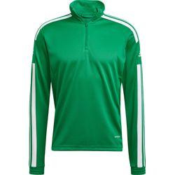 Adidas Squadra 21 Sweat D'entraînement 1/2 Zip Hommes - Vert / Blanc