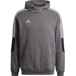 Adidas Tiro 21 Sweater Met Kap Heren - Grijs
