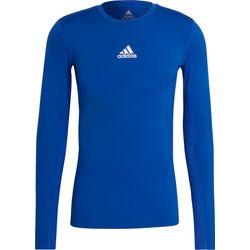 Adidas Techfit / Climawarm Longsleeve Heren - Royal
