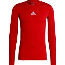 Adidas Techfit / Climawarm Longsleeve Heren - Rood