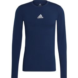 Adidas Techfit / Climawarm Longsleeve Heren - Marine