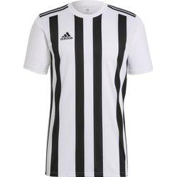 Adidas Striped 21 Shirt Korte Mouw Heren - Wit / Zwart
