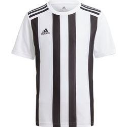 Adidas Striped 21 Shirt Korte Mouw Kinderen - Wit / Zwart