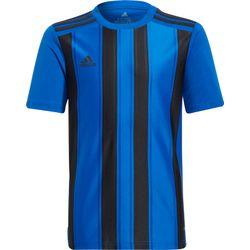 Adidas Striped 21 Shirt Korte Mouw Kinderen - Royal / Zwart