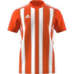 Adidas Striped 21 Shirt Korte Mouw Heren - Oranje / Wit