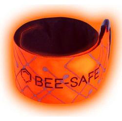 Bee Safe Led Click Band Usb - Orange Fluo