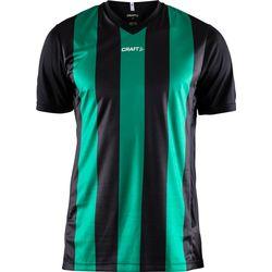Craft Progress Stripe Shirt Korte Mouw Heren - Zwart / Groen