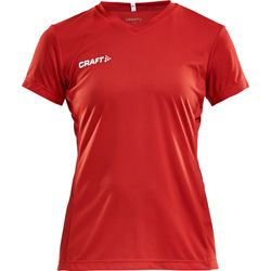 Craft Squad Maillot Manches Courtes Femmes - Rouge