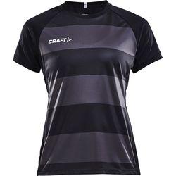 Craft Progress Shirt Korte Mouw Dames - Zwart