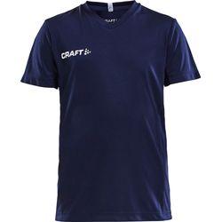 Craft Squad Shirt Korte Mouw Kinderen - Marine