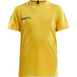 Craft Squad Shirt Korte Mouw Kinderen - Geel