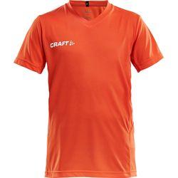 Craft Squad Shirt Korte Mouw Kinderen - Oranje