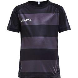 Craft Progress Shirt Korte Mouw Kinderen - Zwart
