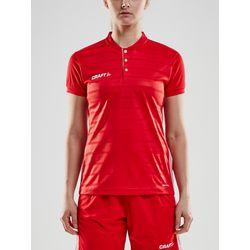 Craft Pro Control Shirt Korte Mouw Dames - Rood
